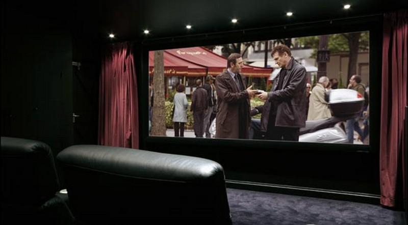 Projeto de home theater sala