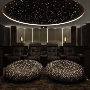 Projeto de sala de tv home theater